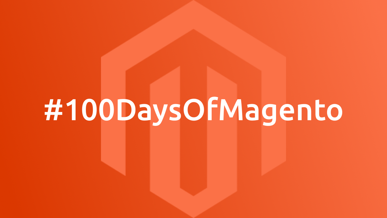 #100DaysOfMagento Challenge